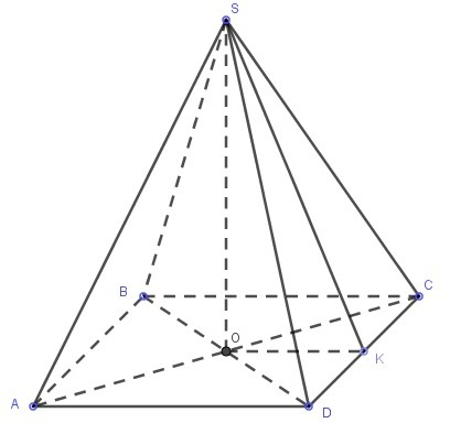 Картинки четырехугольная пирамида