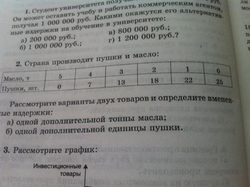 Задача по экономической теории?