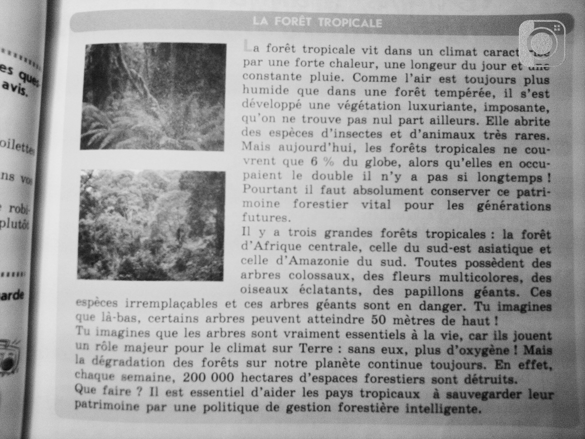 "ПереводТекстаУчебник ""Le francais c'est super?"