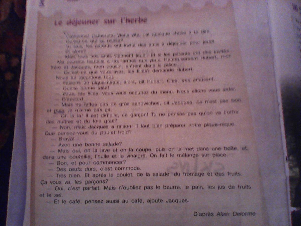 Помогите перевести с французского на русский?