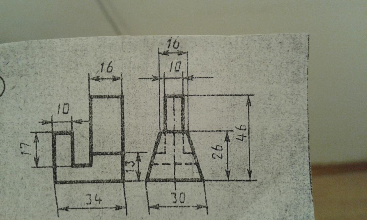 Нужно начертить чертеж 3Д?