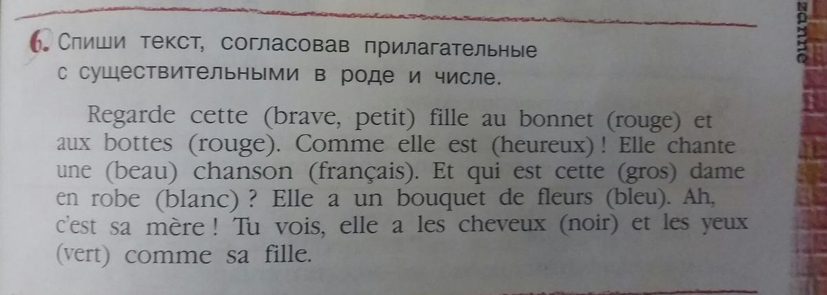 Французский язык?