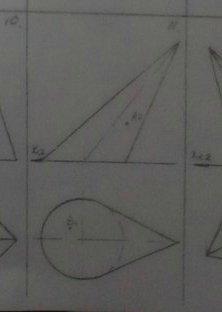 Построить недостающие проекции точек А и В, лежащих на заданных поверхностях?