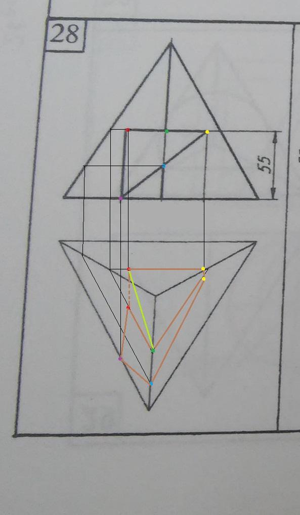 Проверьте правильность построения сквозного отверстия (обведено коричневым, то что получилось у меня), пожалуйста?