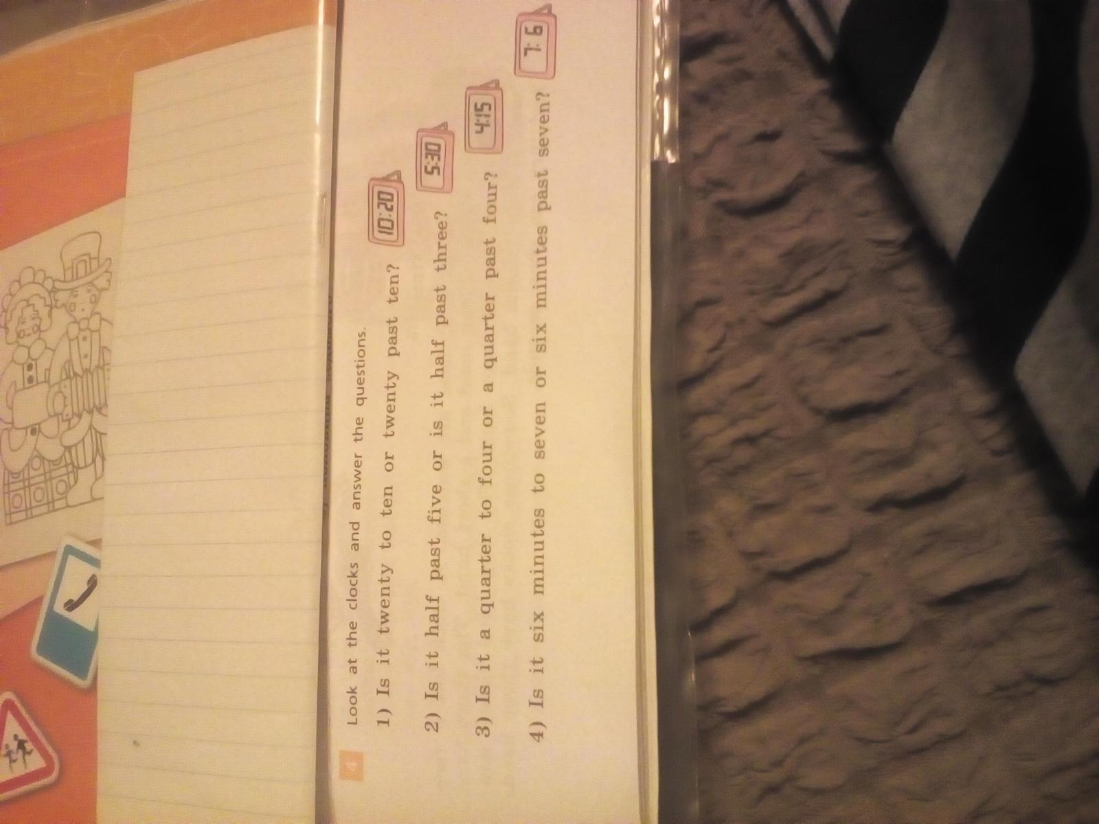 5 класс англиский язик 1 часть страница 101упражнение 4 автори Афанасева перевод на русский язик?