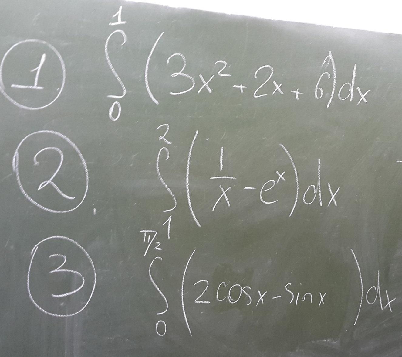 Помогите пожалуйста, 3 определённых интеграла, подробное решение (чем подробнее, тем лучше)?