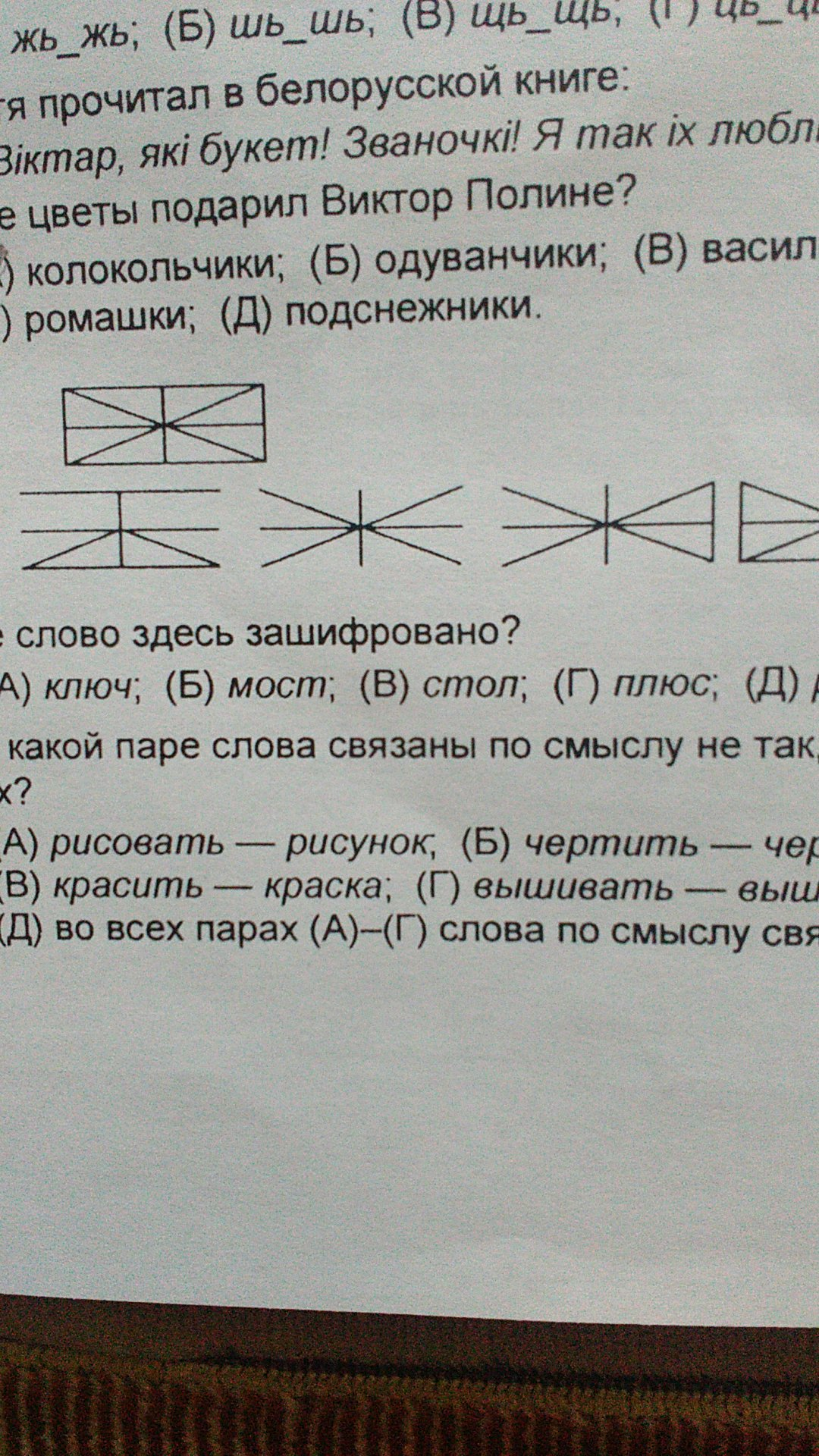 Какое слово здесь зашифровано?