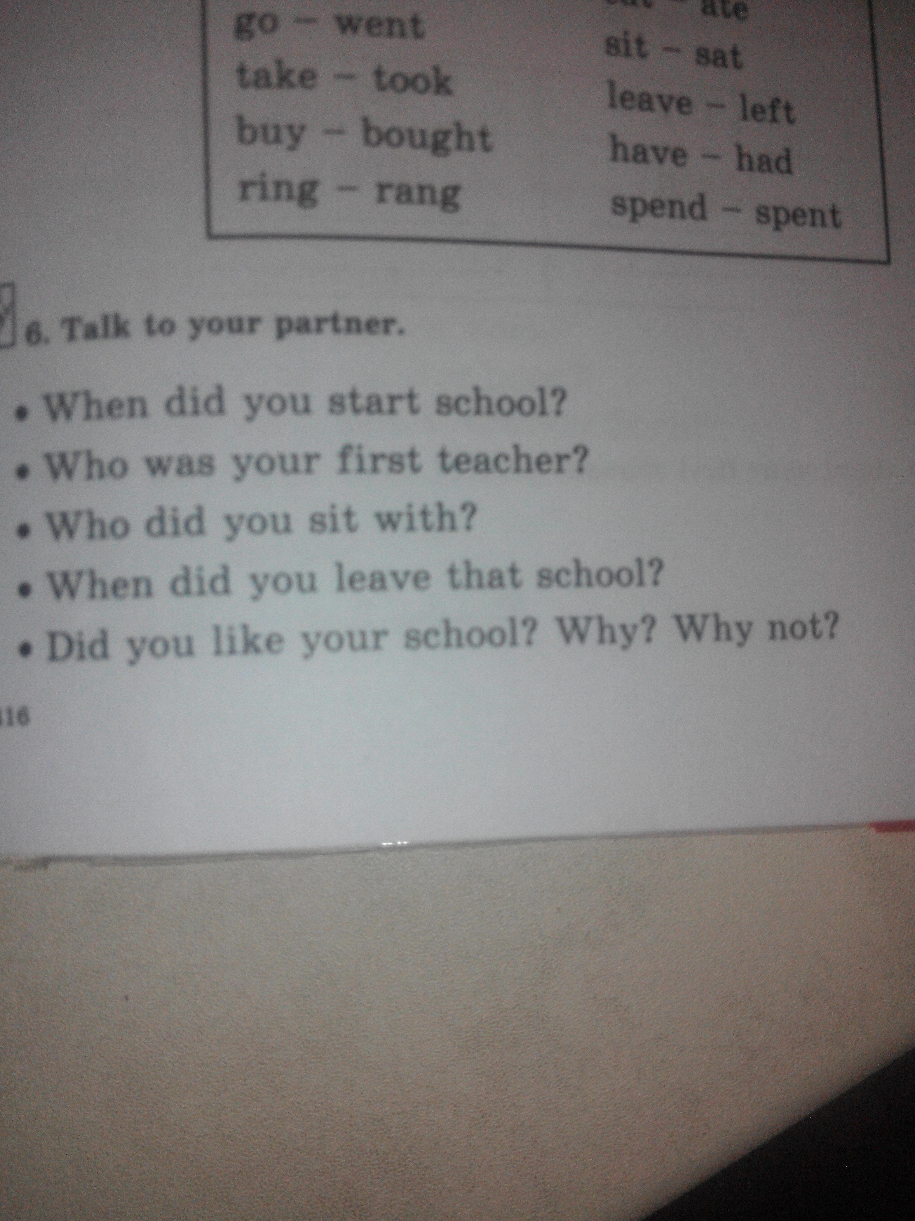 Помогите сделать 6 и 7 задание по английскому языку 6 класс?